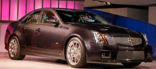 Illustration for article titled Detroit Auto Show: 2009 Cadillac CTS-V