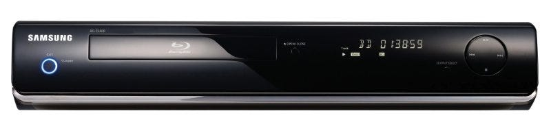 Illustration for article titled Samsung's Next Gen Blu-ray BD-P1400 and BD-2400