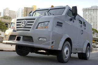 Volkswagen Releases Armored Truck For South American Drug
