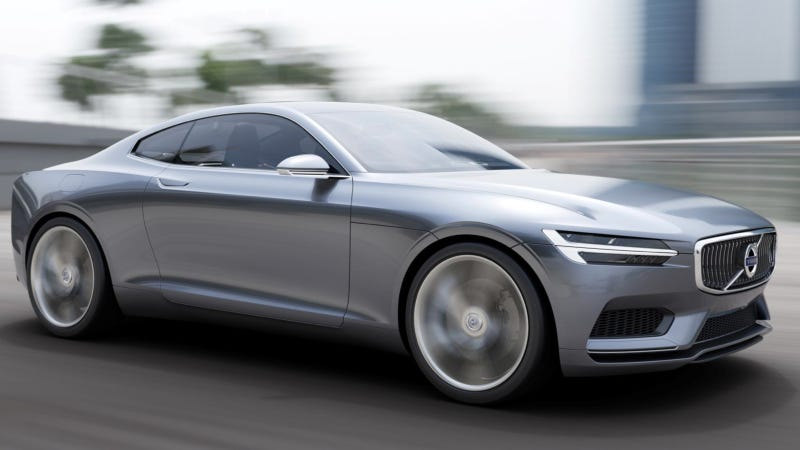 Illustration for article titled Volvo Could Actually Build The Sexy Concept Coupé Just A Little Bit