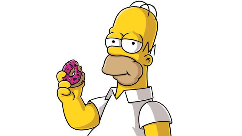 Illustration for article titled This Simpsons food blog allows fans to sample all of Springfield's delicacies