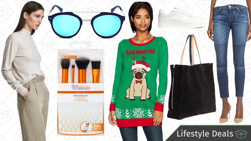 Illustration for article titled Tuesday's Best Lifestyle Deals: Privé Revaux, Ugly Holiday Sweaters, H&M, and More