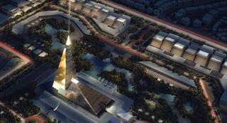 Illustration for article titled El próximo edificio más alto de Egipto será una nueva pirámide