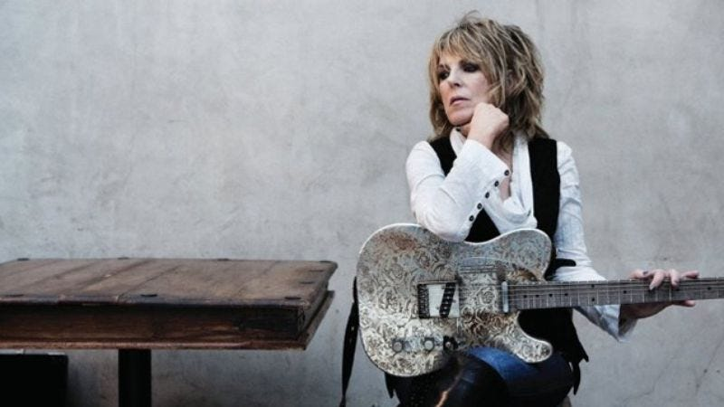 Illustration for article titled Lucinda Williams: Blessed