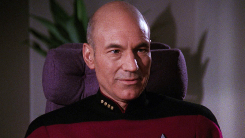 Captain Jean-Luc Picard, of the USS Enterprise.