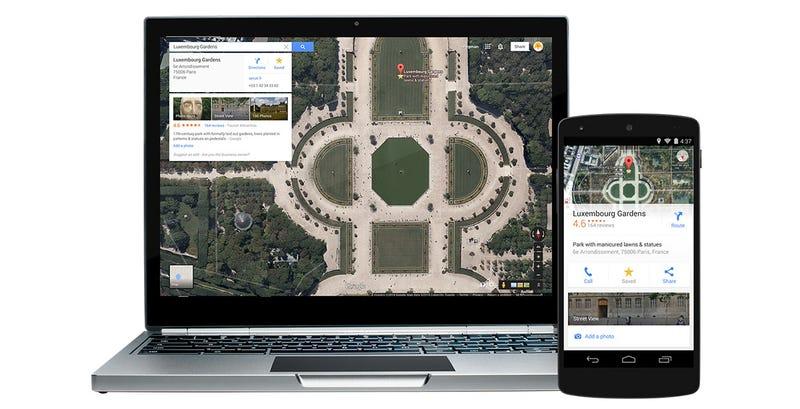 Illustration for article titled Google Maps mejora los mapas offline y la navegación en iOS y Android