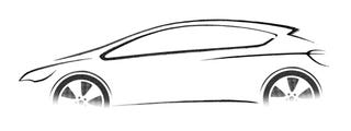 Illustration for article titled New Opel Astra Teaser Images Appear, Blurrier Than A Sasquatch