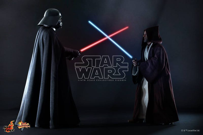 Illustration for article titled Hide your Wallet: Hot Toys' next Star Wars figures are Vader and Obi-Wan