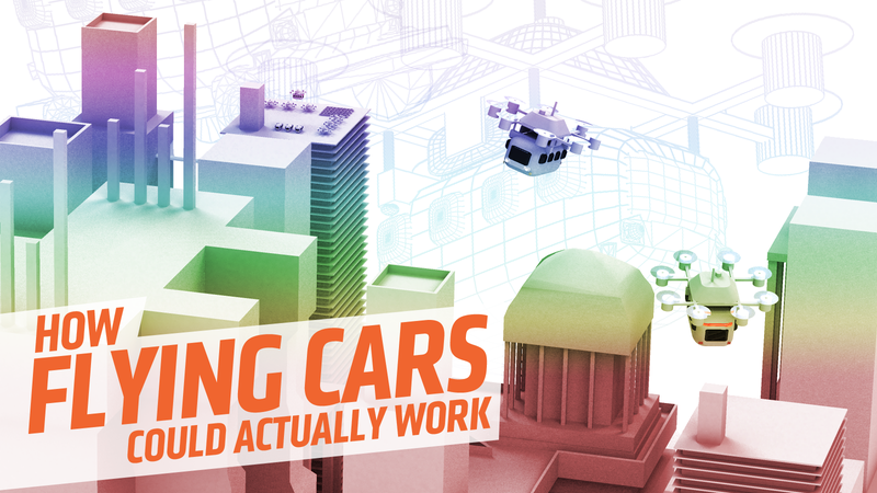 Illustration for article titled There's A Way To Make Flying Cars Actually Work