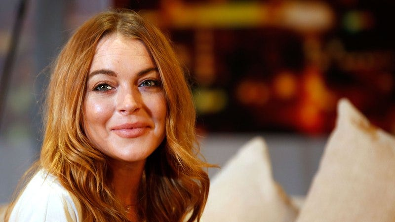 Lindsay Lohan in London, 2014 (Photo: Tim P. Whitby/Getty Images)