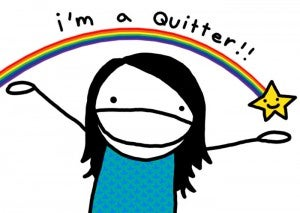 Illustration for article titled Advice on how to quit?