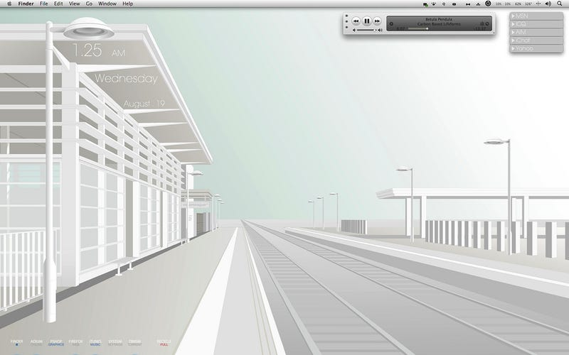 Illustration for article titled The Ultra-Minimal Mac Desktop
