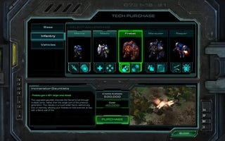 Illustration for article titled New StarCraft II Screens