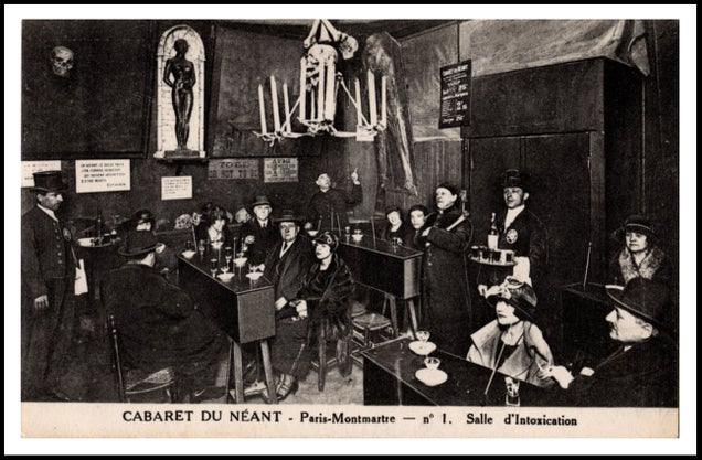 The Other 90's Nightlife Scene: Heaven and Hell Nightclubs of 1890s Paris,