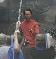 Illustration for article titled New Pix From The Incredible Hulk Reveal... Ed Norton In A Red Hoodie