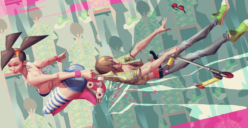 Illustration for article titled Saved By The Rollerskates