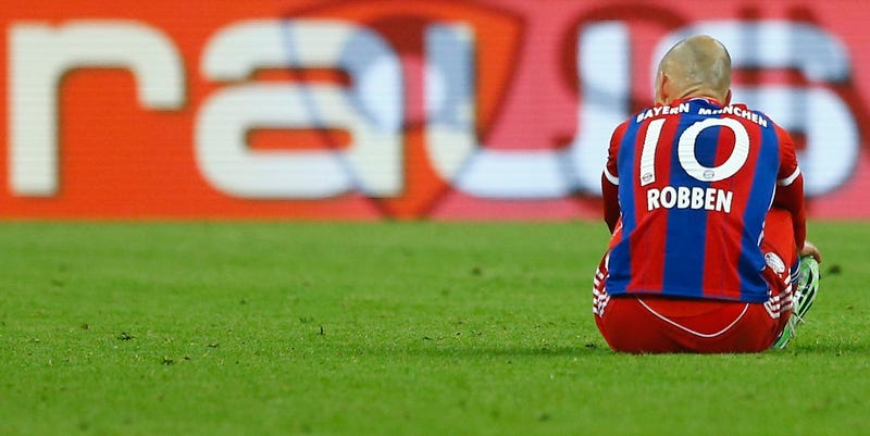Illustration for article titled Bayern Munich's Injury Crisis Has Gotten Truly Ridiculous
