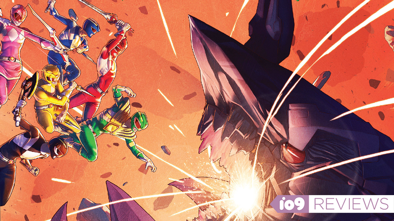 Illustration for article titled The Power RangersComic Is About So Much More Than Nostalgia