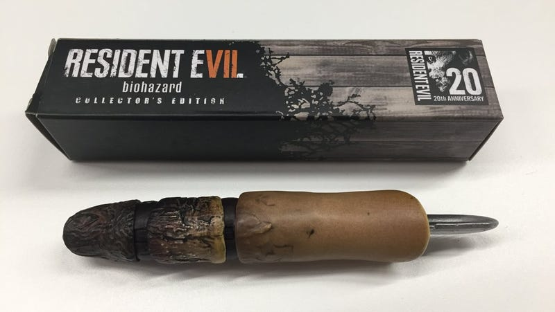 Illustration for article titled Resident Evil 7 USB Doll Finger Looks Like A Burnt Penis