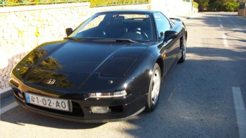 Illustration for article titled Is This Really Ayrton Senna's NSX On An eBay Auction?