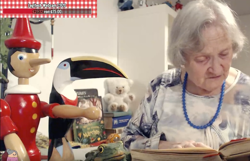 Illustration for article titled I Love This German Grandma Reading Children's Books On Twitch