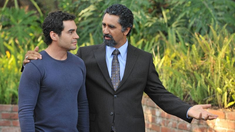 Ramon Rodriguez (left), Cliff Curtis (Fox)