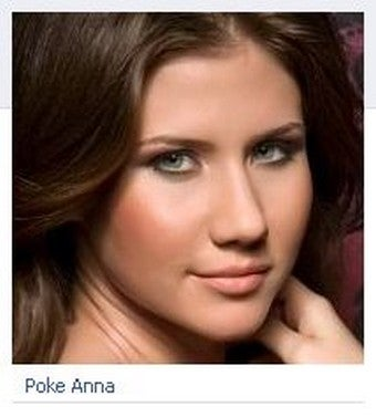 Illustration for article titled Russian Spy Anna Chapman Rules Bizarre Facebook Posse