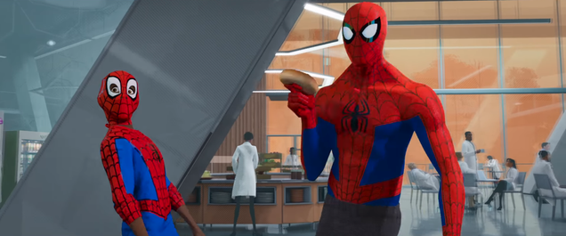 Miles Learns Web-Swinging on the Job in a Glorious Clip From Spider-Man: Into the Spider-Verse