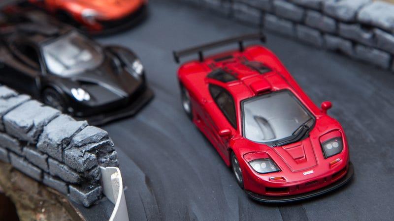Kyosho McLaren F1 GTR, Mondo Motors Pagani Zonda R, Kyosho McLaren P1