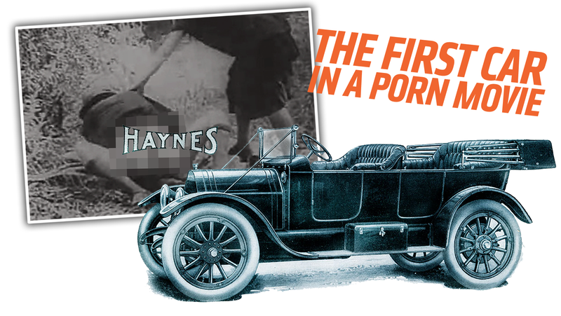 Illustration for article titled The Oldest Known Porno Movie Prominently Features A Car