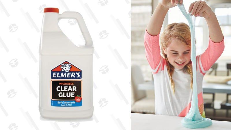 Elmer's Washable Clear Glue, 1 Gallon | $10 | Amazon