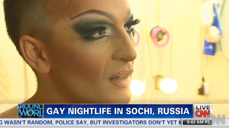 Illustration for article titled A Dispatch From a Drag Queen Club in Sochi