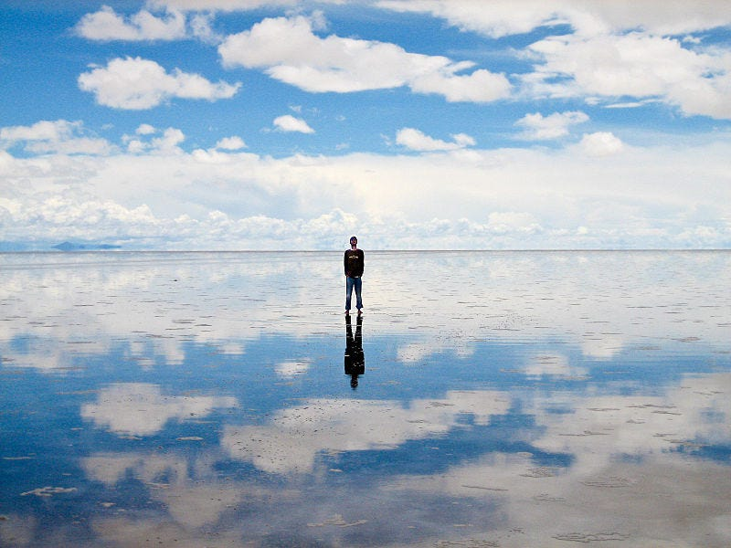 Illustration for article titled This is the biggest mirror on Earth