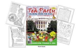 Illustration for article titled Tea Party Coloring Book Prepares Youngsters For A Lifetime Of Crazy