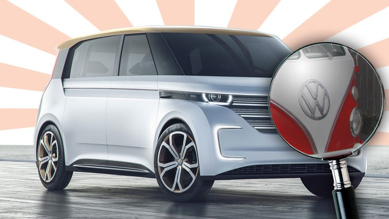 Everything Interesting About Volkswagen's New Electric Microbus