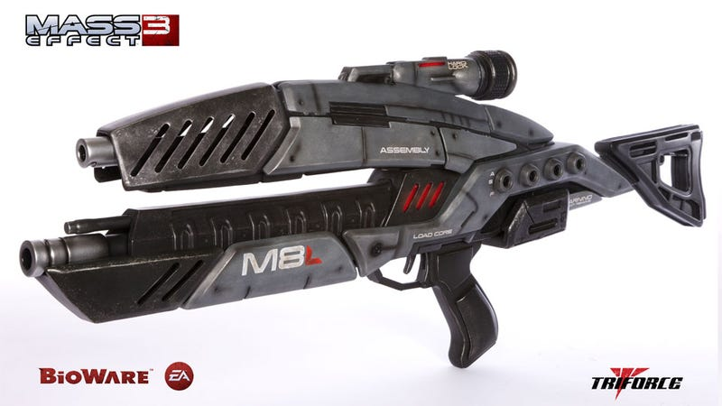 Illustration for article titled Buy Your Very Own Official, 1:1 Mass Effect Assault Rifle