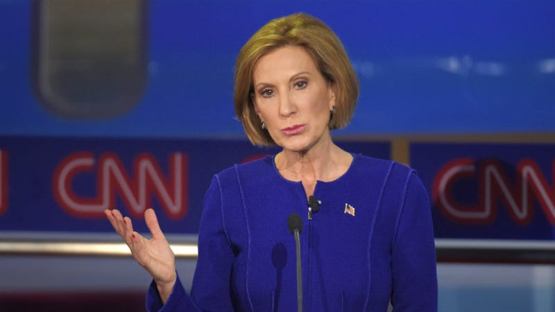Illustration for article titled Carly Fiorina's Existence Proves GOP Can Close 'Gender Gap,' SaysNew York Times