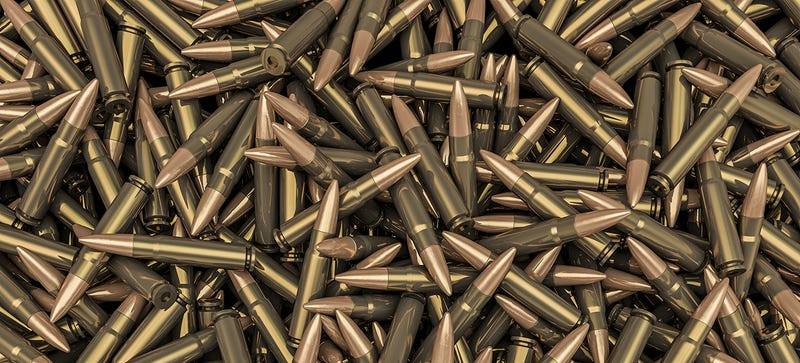 Illustration for article titled The Pentagon Can't Keep Track of Ammo So It's Destroying $1B in Bullets