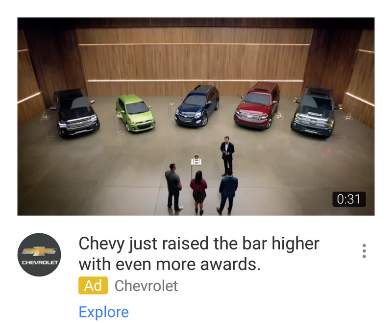 Illustration for article titled Is Chevrolet's ad agency run by Donald Trump?