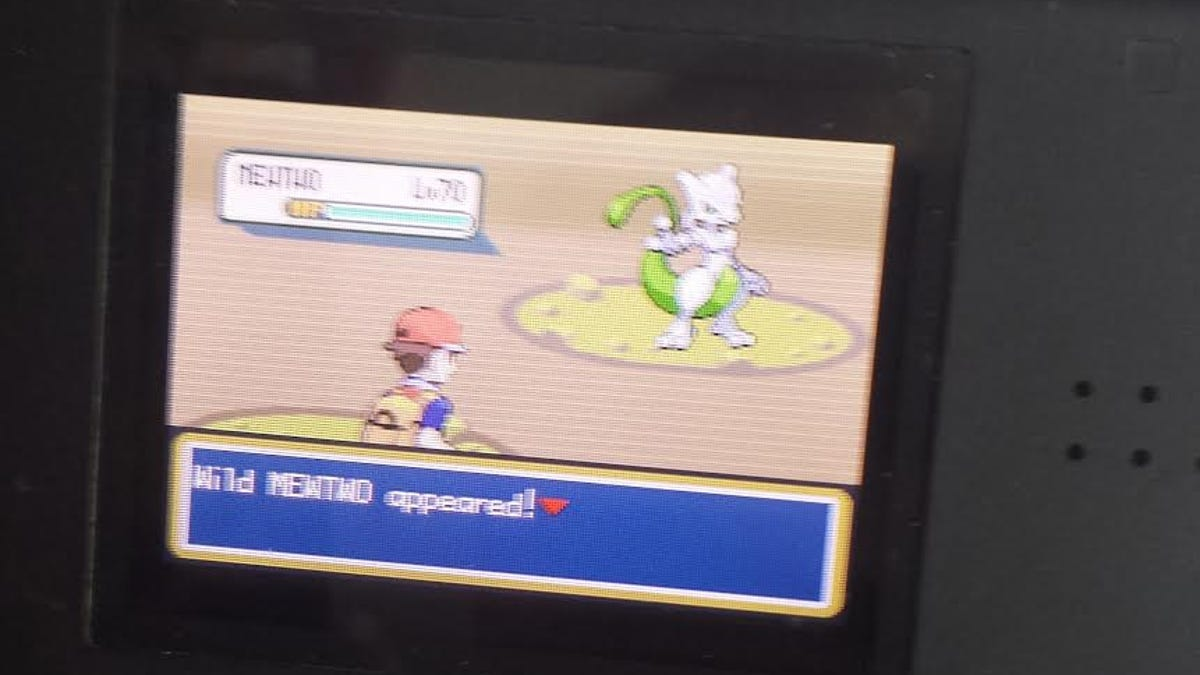 Mewtwo cheat code pokemon fire red