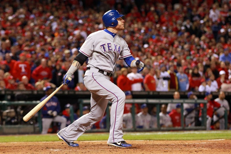Illustration for article titled Josh Hamilton Said God Told Him He Would Hit His 10th Inning Home Run