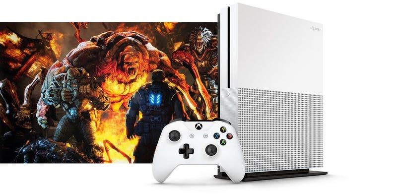 Illustration for article titled Xbox One S ya es oficial: más pequeña, mejorada y más barata