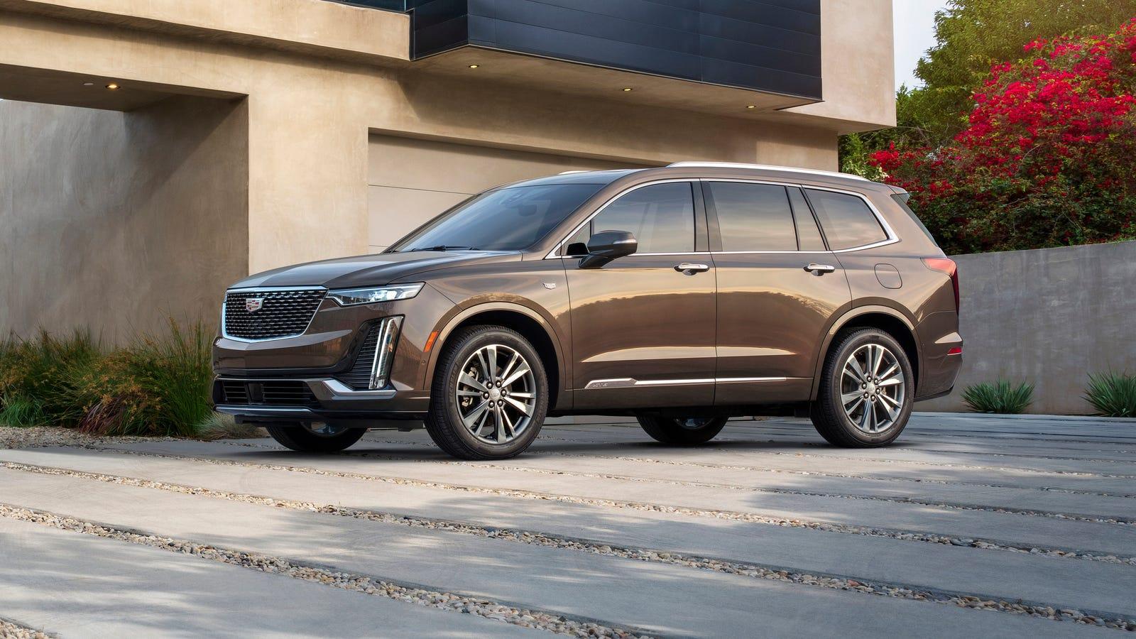 The 2020 Cadillac XT6 Will Be Cadillac's Three-Row