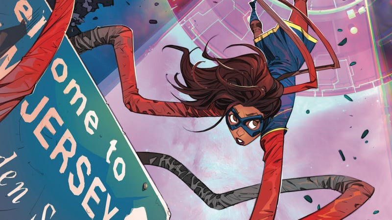 Illustration for article titled Teen superhero fave Ms. Marvel is getting her own live-action Disney+ show