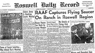 Illustration for article titled 65 Years Ago a UFO Probably Maybe Possibly Crashed on Earth at Roswell