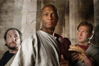 Illustration for article titled Eddie George To Play Julius Caesar In Local Shakespeare Festival