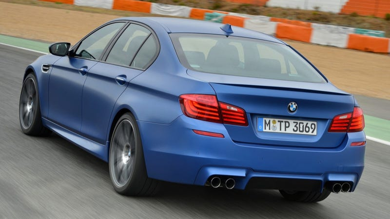 Illustration for article titled Real Live AWD BMW M5 Spied Testing In Arctic Sweden