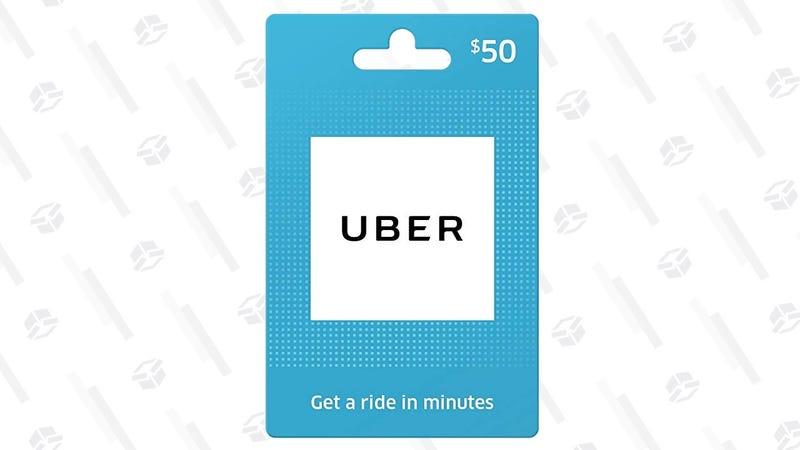 $50 Uber Gift Card (Digital) | $40 | Amazon | Promo code UBER10