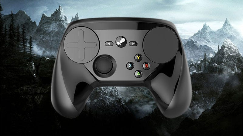 Illustration for article titled Steam Controller Used To Help Disabled Skyrim Player