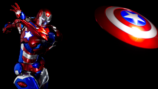 Illustration for article titled This Badass Iron Patriot Is The Most Patriotic Iron Man Figure Yet